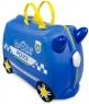 Trunki детский чемодан на колесиках Полицейская машина Перси 0323