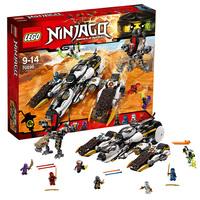 Внедорожник с суперсистемой маскировки Lego Ninjago 70595