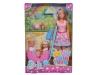 Кукла Simba Веселая прогулка Штеффи, Еви и Тимми 10 5733229