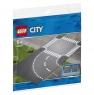 Лего 60237 Поворот и перекресток Lego City