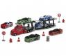 Детская игрушка Dickie Трейлер с машинками и знаками 20 374 5001
