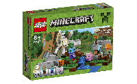Лего 21123 Железный Голем Lego Minecraft