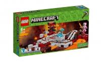 Лего 21130 Подземная железная дорога Lego Minecraft