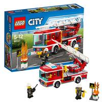 Пожарный автомобиль с лестницей