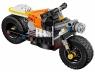 Оранжевый мотоцикл