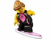 Минифигурка 4-й выпуск Серфингистка