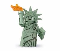 Минифигурка 6-й выпуск Статуя Свободы