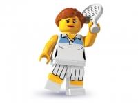 Минифигурка 3-й выпуск Теннисистка