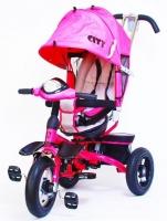 Детский трехколесный велосипед Trike City Sport 5588A-2 (розовый)