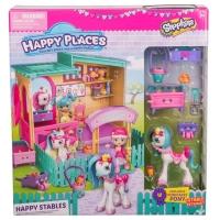 Набор Happy Places Веселая конюшня Шопкинс 56688