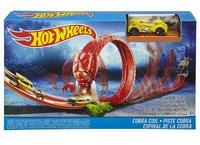Трек Hot Wheels Кольцо кобры DWK95