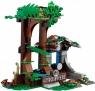 Lego Jurassic World 75929 Побег в гиросфере от карнотавра