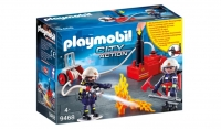 Playmobil Пожарные с водяным насосом 9468