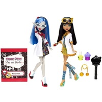 Кукла Monster High Клео де Нил и Гулия Йелпс, серия Безумная наука