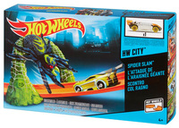 Трек Hot Wheels Удар паука