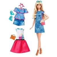 Кукла Барби Игра с модой Barbie Fashionistas DTF06