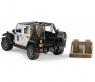 Внедорожник Jeep Wrangler Bruder Полиция с фигуркой 02526