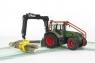 Трактор Bruder Fendt 936 Vario лесной с манипулятором 03042