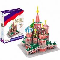 3D Пазлы Собор Василия Блаженного C239H