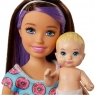 Кукла Barbie Няня с аксессуарами FHY98
