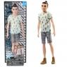Кукла Кен Игра с модой Barbie Fashionistas FJF74