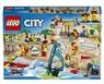 Lego City 60153 Отдых на пляже-жители