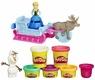 Play-Doh Набор пластилина Приключение Анны на санях B1860