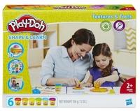 Play-Doh Набор пластилина Текстуры и инструменты B3408