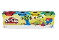 Play-Doh Набор пластилина для лепки 4 мини баночки 23241
