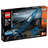 Гусеничный кран Lego 42042