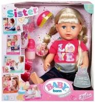 Кукла Baby Born Сестричка Zapf Creation Беби Борн 43 см, 820704