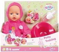Кукла Baby Born 823460 Беби Борн Учимся ходить на горшок, 32 см