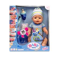 Кукла Baby Born 822012 Беби Борн Мальчик интерактивная, 43 см