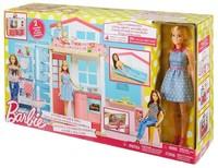 Переносной домик Barbie с куклой DVV48