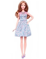 Кукла Барби Игра с модой Barbie Fashionistas DVX75