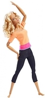 Кукла Барби Йога Безграничные движения Barbie Made To Move DPP75