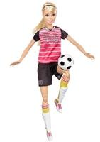Кукла Барби Футболистка Безграничные движения Barbie Made To Move DVF69