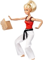 Кукла Барби Каратистка Безграничные движения Barbie Made To Move DWN39