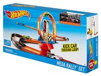 Трек Hot Wheels Мега-набор для ралли DNN82/DNN81