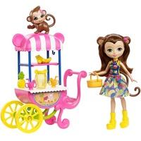 Кукла Enchantimals с питомцами Набор Фруктовая тележка FCG93