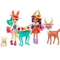 Куклы Enchantimals с питомцами Набор Волшебный сад FDG01