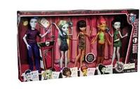 Набор Monster High из 5 кукол серия Студенческий совет