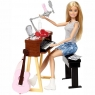 Набор Кукла Barbie Музыкант блондинка FCP73