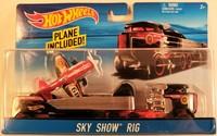 Hot Wheels Трейлер дальнобойщика с машинкой Super Truck BDW51