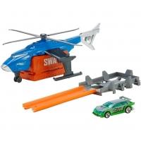 Игровой набор Транспорт специального назначения Hot Wheels Супер боевой вертолет FDW72/FDW70