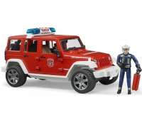 Джип Bruder Jeep Wrangler Unlimited Rubicon 02528