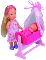 Кукла Simba Эви с кроваткой 10 5736242