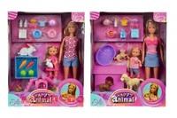 Кукла Simba Штеффи и Эви с домашними животными 10 5732156