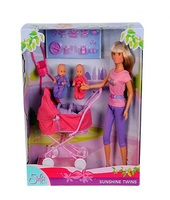 Кукла Simba Штеффи с большой коляской 10 5738060