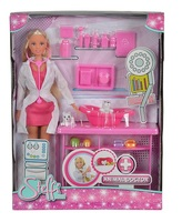 Кукла Simba Штеффи Ветеринар с аксессуарами 10 5737393
